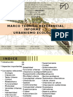 Informe 1 Urbanismo Ecológico