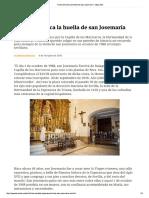 Triana Enmarca La Huella de San Josemaría - Opus Dei