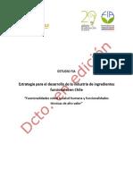 Estudio Estrategia Des. Ind. Ing. Funcionales en Chile
