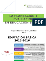 Planificación y Evaluación Por Competencias