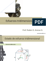 Mecanica de Materiales II-Esfuerzo Tridimensional