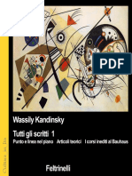 Wassily Kandinsky - Tutti Gli Scritti Vol 1