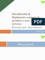 Introducción al Reglamento conjunto de permisos y usos de terrenos