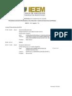 Programa Trimestre 2