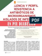 Antibiotico Pie Diabetico
