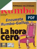 REVISTA RUMBO- 126