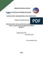 Universidad Nacional de Piura Formulacion