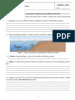 Teste 9º Ano Geografia Pesca