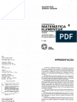 Volume 4 - Matrizes, Progressoes, Sistemas Lineares.pdf