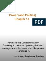 Power and Politics