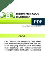 Implementasi CDOB Di Lapangan