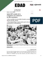 Quita SEP Estudio de La Conquista y La Colonia de Los Libros Gratuitos