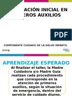 PPT PRIMEROS AUXILIOS