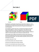 14 Solving the Cube