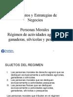 Personas Morales Régimen Actividades Agrícolas