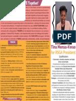Tina Mensa-Kwao for RSGA President