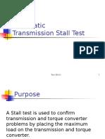 Stall Test en PPS