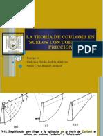 La Teoría de Coulomb en Suelos Con Cohesión [4286]