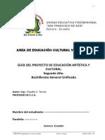 Guia Para Elaborar El Proyecto e.c.a. 2do. Bach.