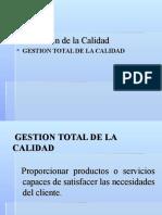 Clase Gestion Total de Calidad y RSE