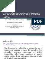 Valuación de Activos y Modelo Capm