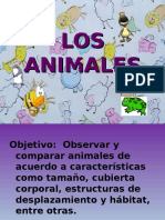 Ppt. Los Animales