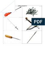 Clasificación de Armas (Punzantes, Cortantes, Punzocortantes y Cortocontundentes)