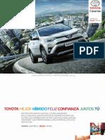 Catalogo Camioneta Suv Toyota Rav4 Hybrid 2016