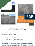 2a.a)Importancia Geología