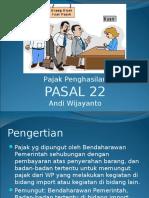 Slide PPh Pasal 22