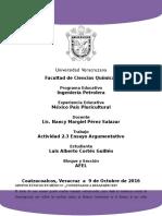 Coatzacoalcos-Minatitlan Luis Alberto Cortes Guillen Act2.3