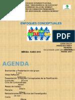 Presentación Enfonques de La Planificación Curricular