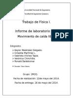 Lab 4, Caída Libre