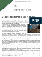Ejercicios de Coordinación Para Voleibol (1) _ Voley Por El Mundo