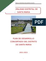 Santa Maria Plan de Desarrollo Concertado Distrital