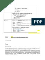 Surat Penolakan - Pendidikan DLP
