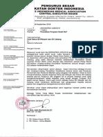 Surat Edaran PB IDI tentang DLP