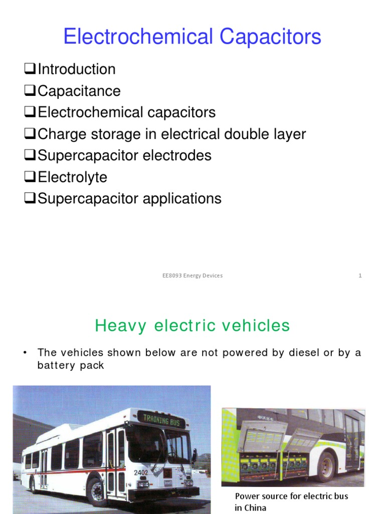 Electrochemical Capacitors | Capacitor | Dielectric
