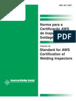 Norma p Certif Aws p Inspetores
