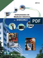 Instrumentos de Medicion Electrica de Hioki