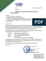 Surat Undangan Peserta KPSI Dan Rakerpus