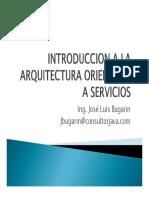Introduccion a La Arquitectura Orientada a Servicios