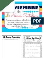 Noviembre 2016 Boletín Para Niños Católicos.pub