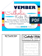 November 2016 Catholic Kids Bulletin