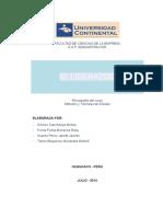 Monografía de Métodos y Técnicas de Estudio