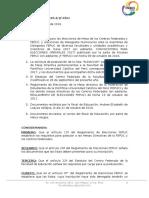 Resolución N° 2 2016-2/ JF-EDU
