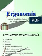 Unidad I Ergonomia
