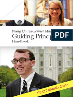 Young Church Service Missionary Guiding Principles Handbook
