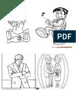 dibujo etapas