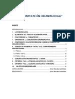 La Comunicacion Organizacional v2